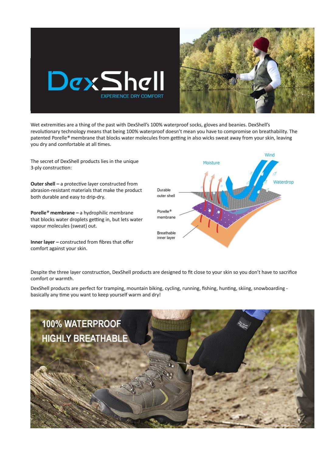 DexShell Ultralite Biking Waterproof Ankle Length Socks