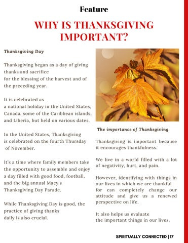 Page 17 of Why is thanksgiving important?