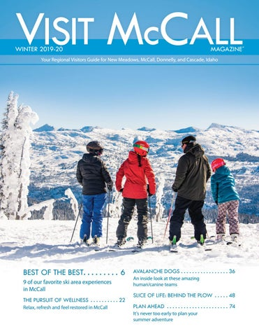 Visit Mccall Magazine Winter 19 20 By Mccall Area Chamber Of