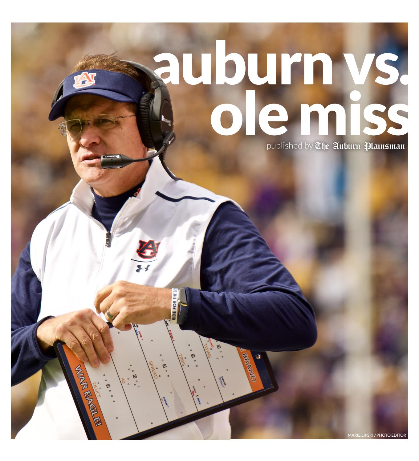Gameday Special Issue 10.31.2019 by The Auburn Plainsman ...