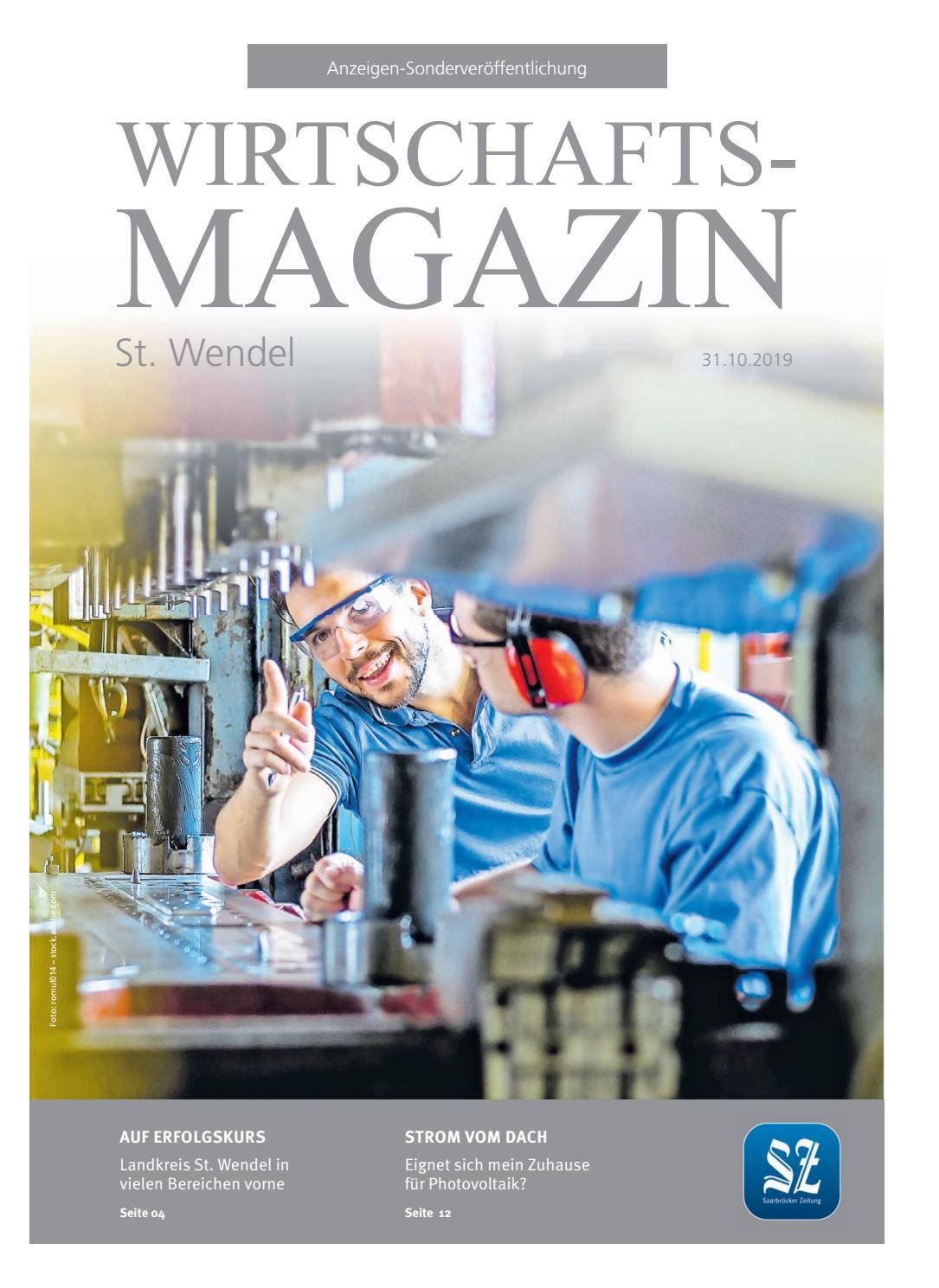 Wirtschaftsmagazin St. Wendel | 31. Oktober 2019 by
