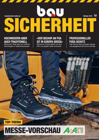 By Issuu 2019 Gmbh Bausicherheit Oktober Sbm Verlag dBWCrxoe