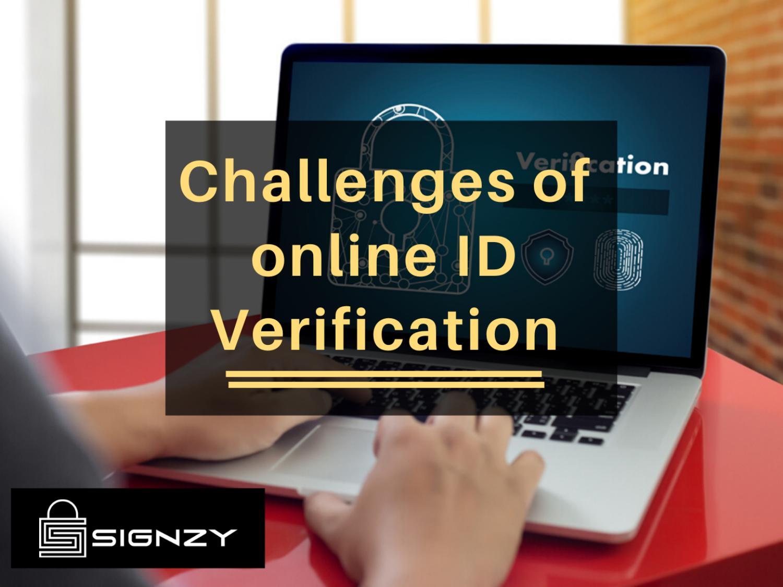 Online id verification