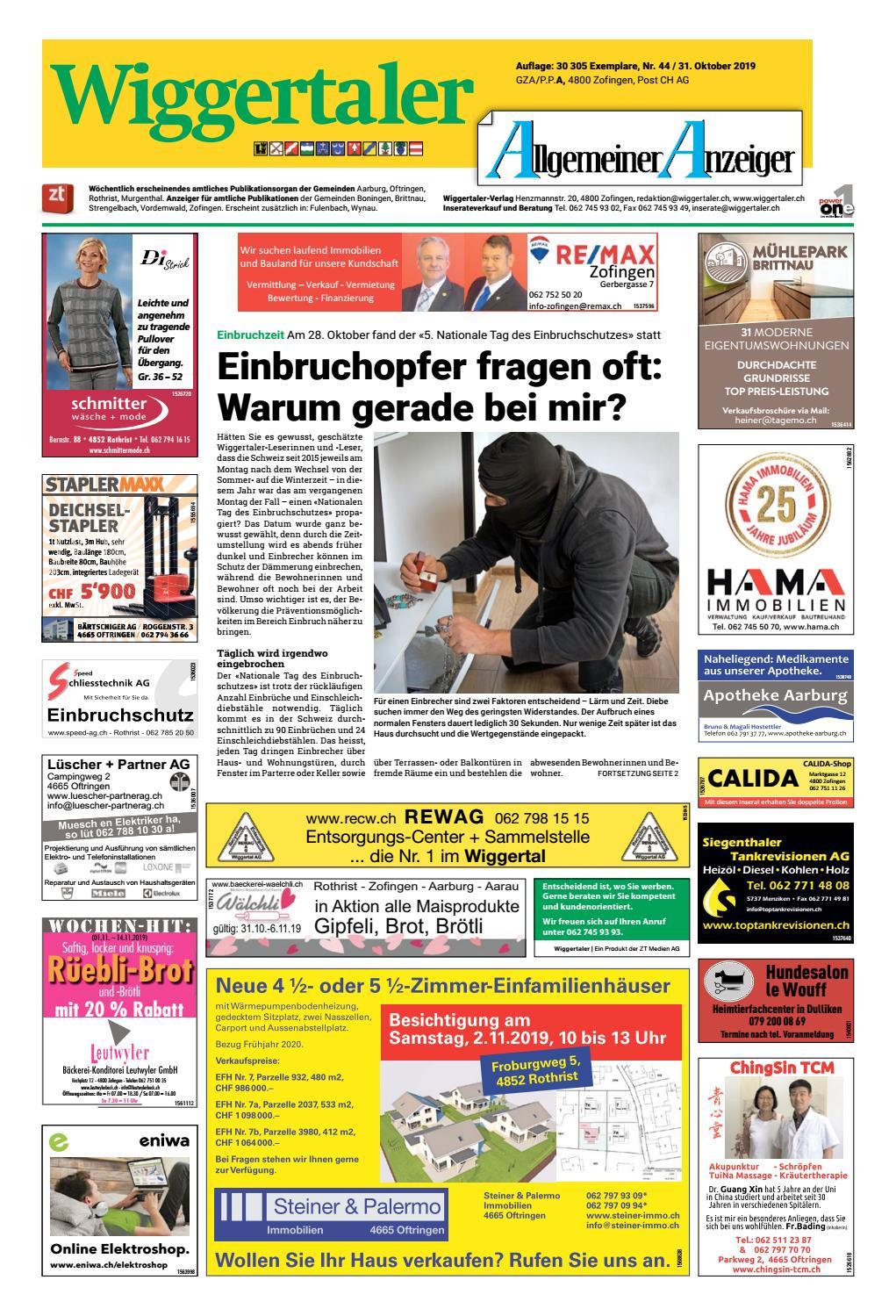 Das informative Monatsmagazin fr Reinach 09 - Dorfheftli