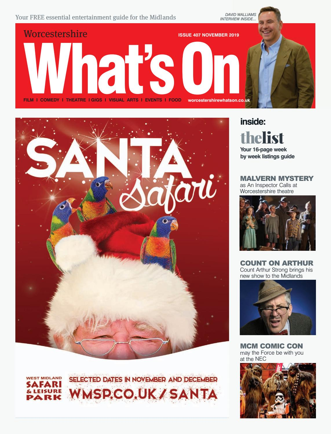 Worcestershire Whats On November 2019 By Whats On Magazine