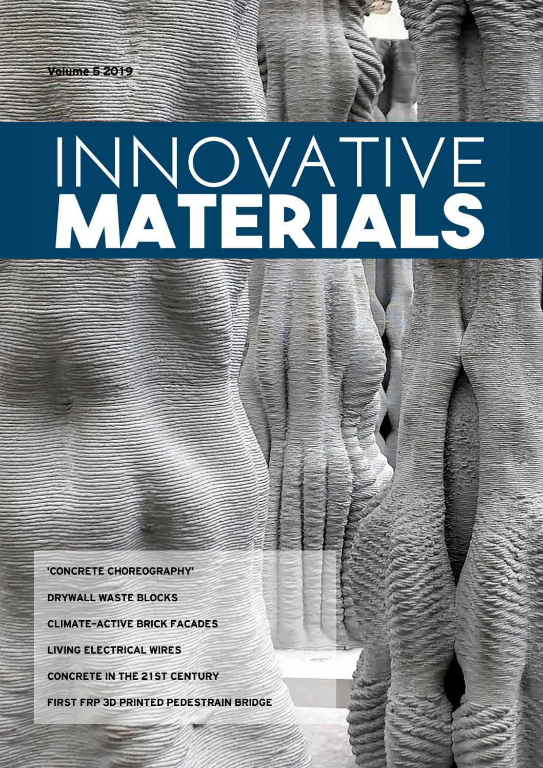 Innovative Materials edition 5 2019 by Innovatieve ... on