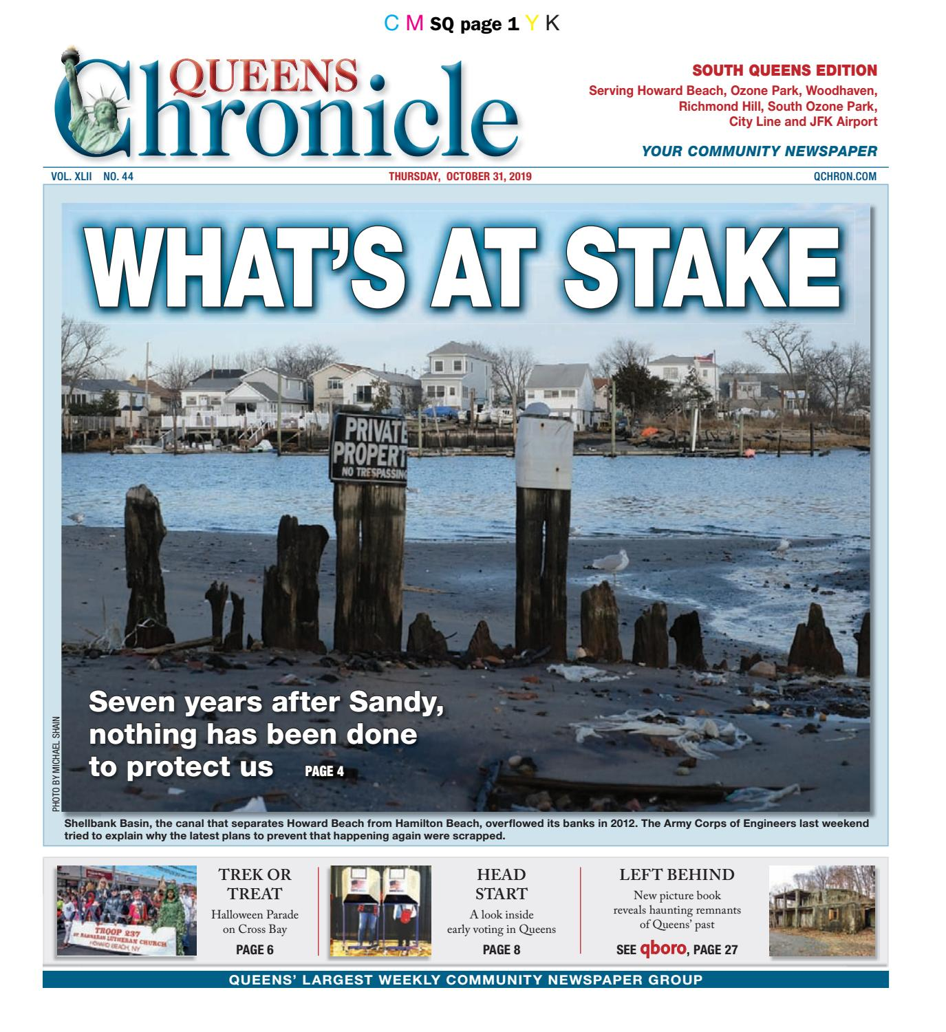 Queens Chronicle South Edition 10 31 19 by Queens Chronicle