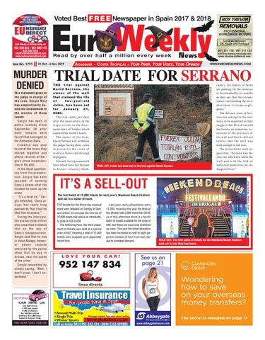 Euro Weekly News Axarquia 31 October 6 November 2019