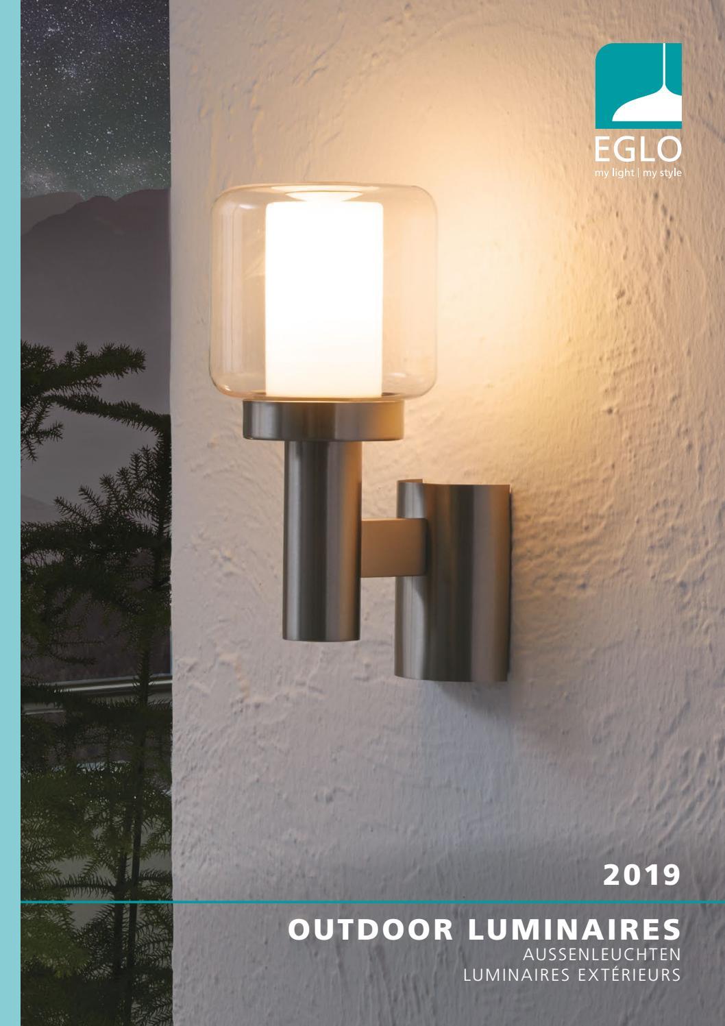 EGLO Pias Außen Wandleuchte Lampe Warmweiß 93365