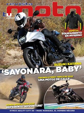 Revista Tu Moto mes de noviembre de 2019. Número 79. by