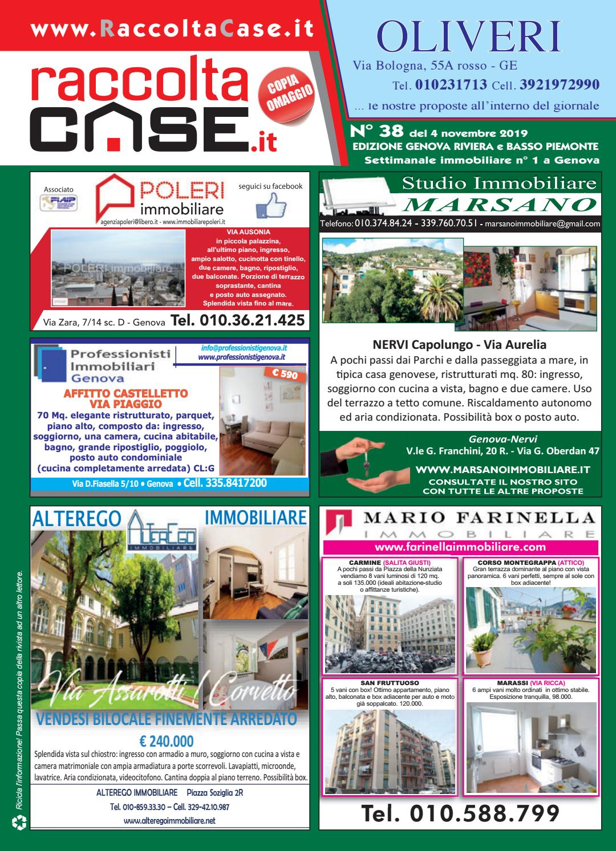 Raccoltacase Genova 38 - 2019 by Publidok S.r.l. - issuu