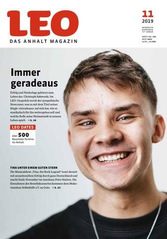 Leo Ausgabe November 2019 Lesen Leo Das Anhalt Magazin