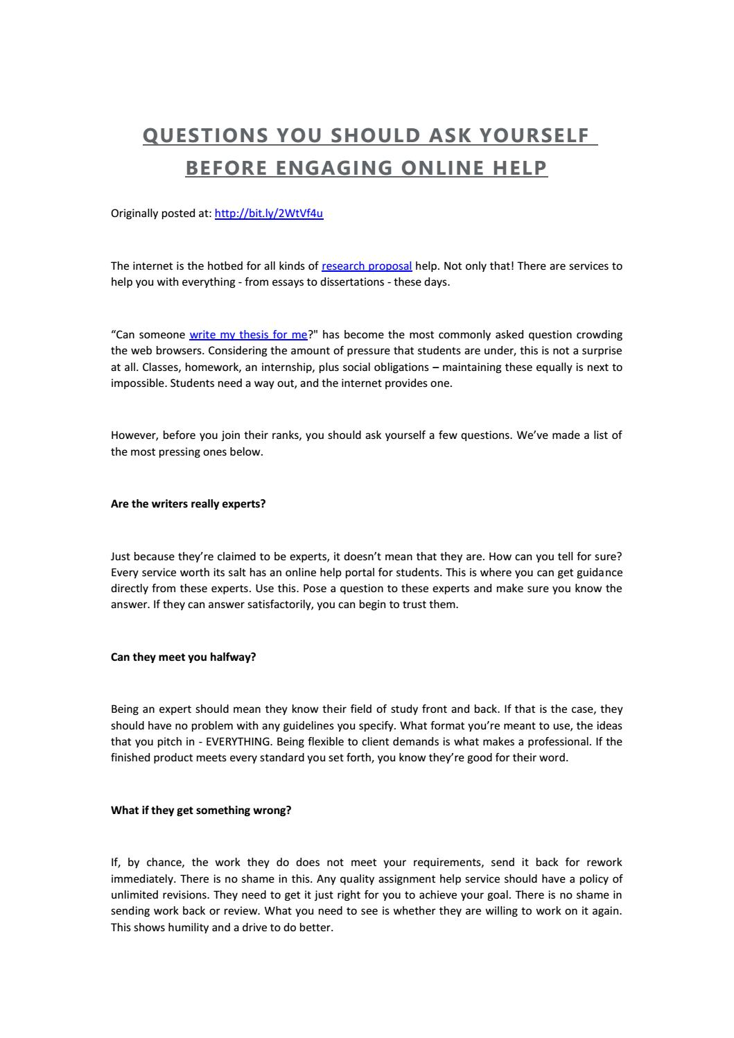 Help writing your dissertation format form