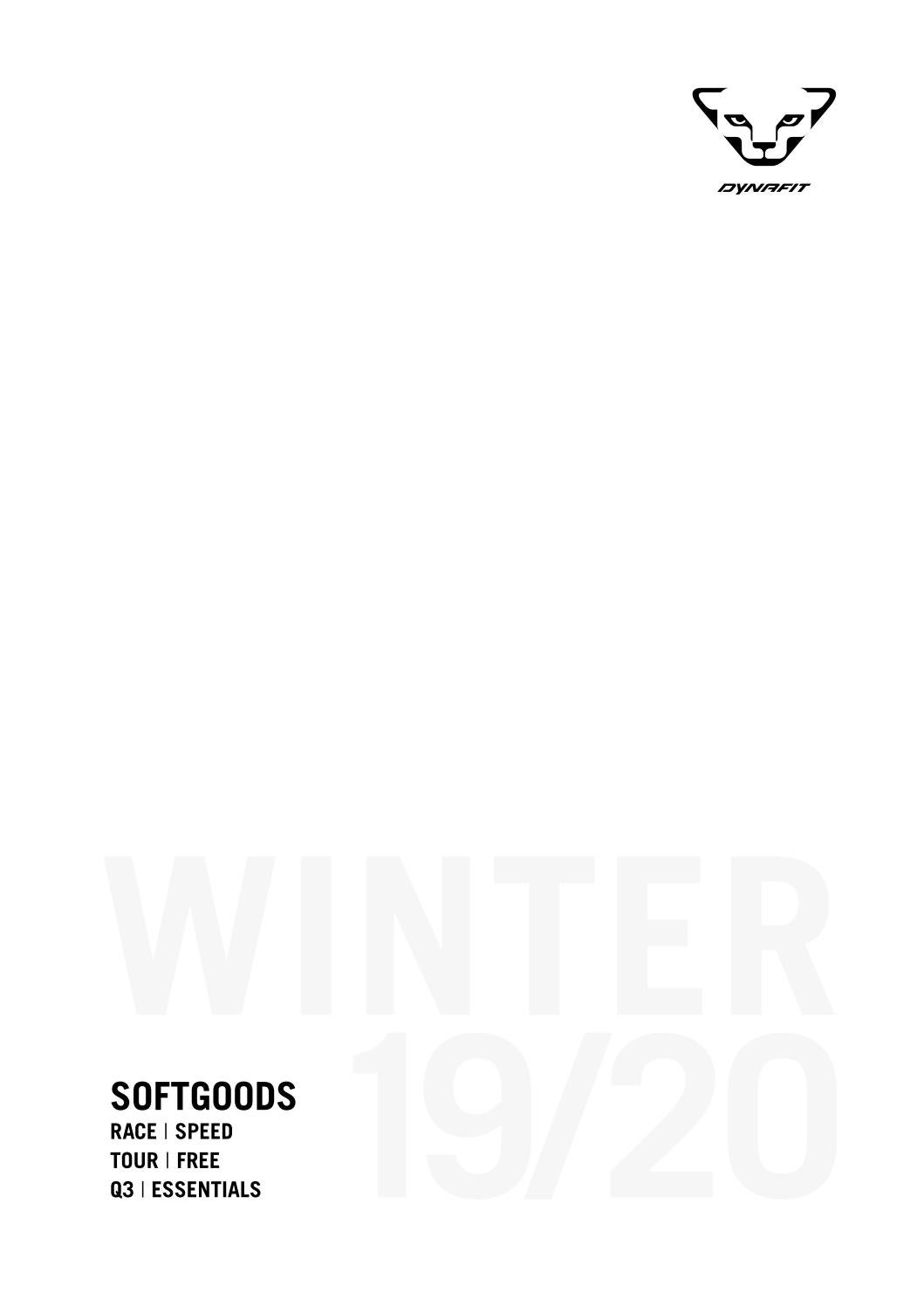 Dynafit Catalogue Winter 2019.20 by MountainBlogIT issuu