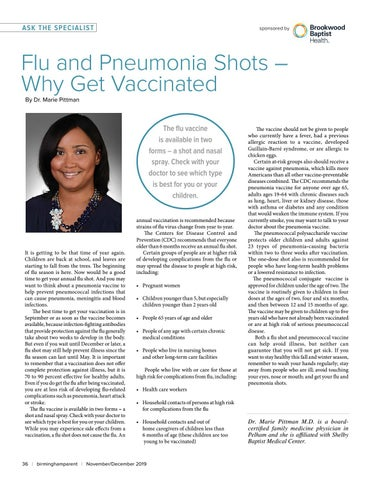Page 36 of Flu and Pneumonia Shots-- Why Get Vaccinated