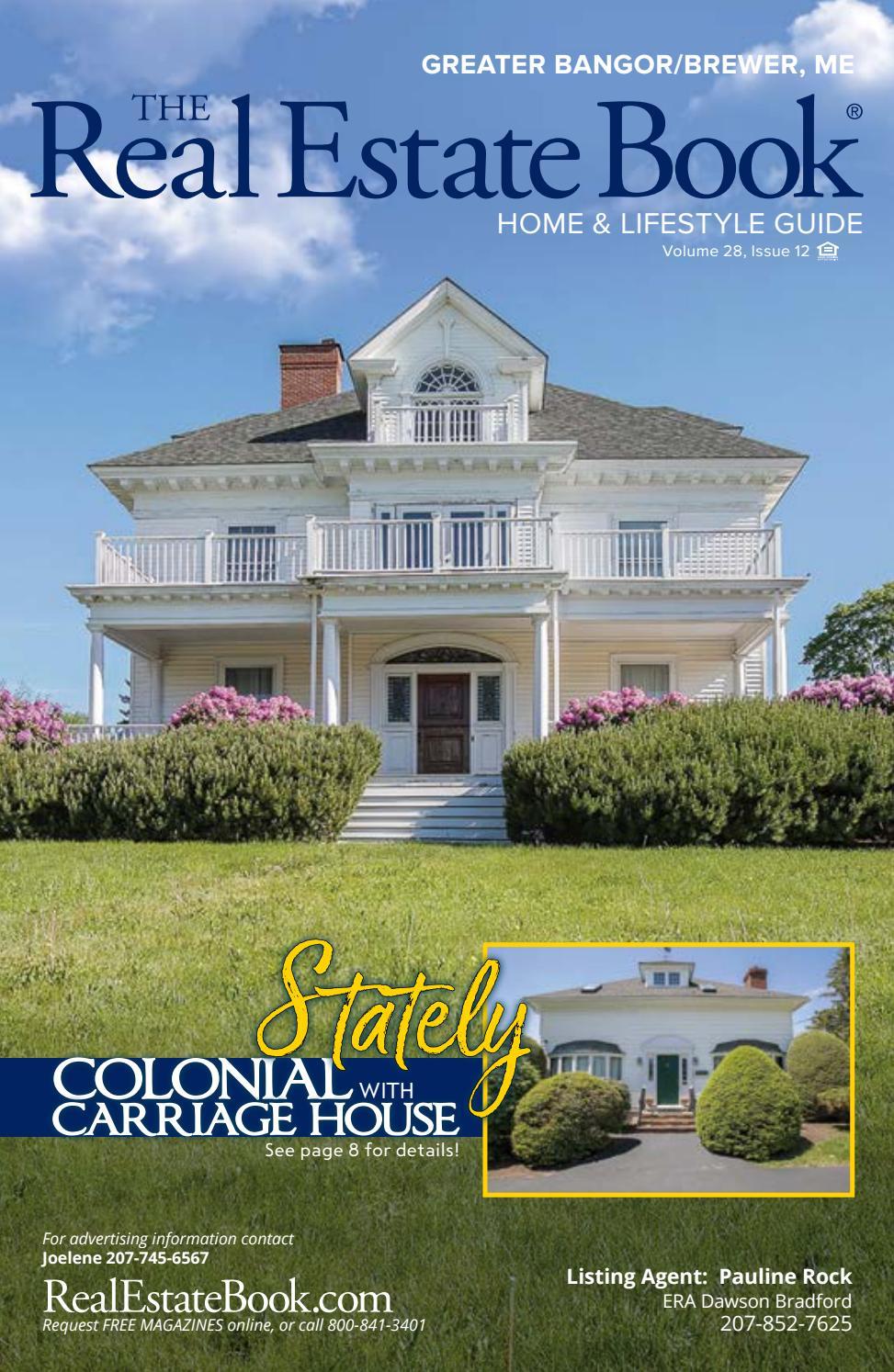 Real Estate Book Greater Bangor Maine