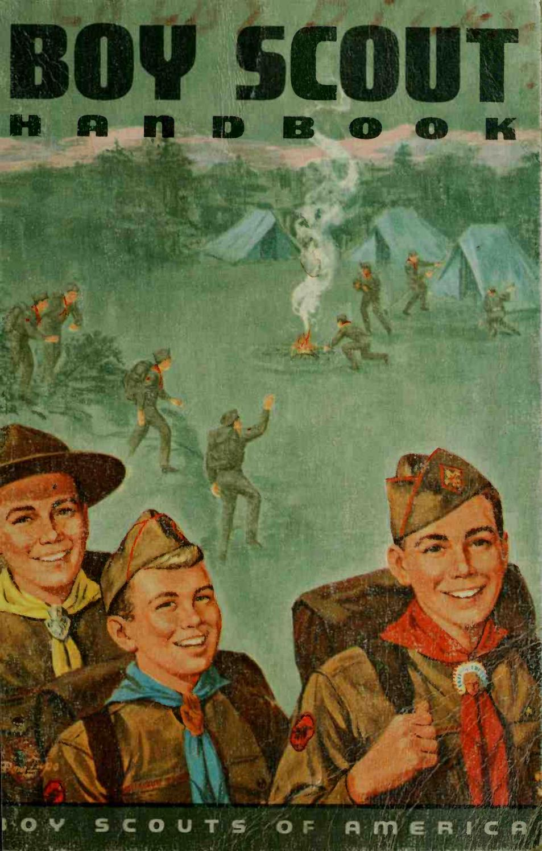 WELL USED LIFESAVING 1967 VINTAGE  BOY SCOUT  MERIT BADGE BOOK