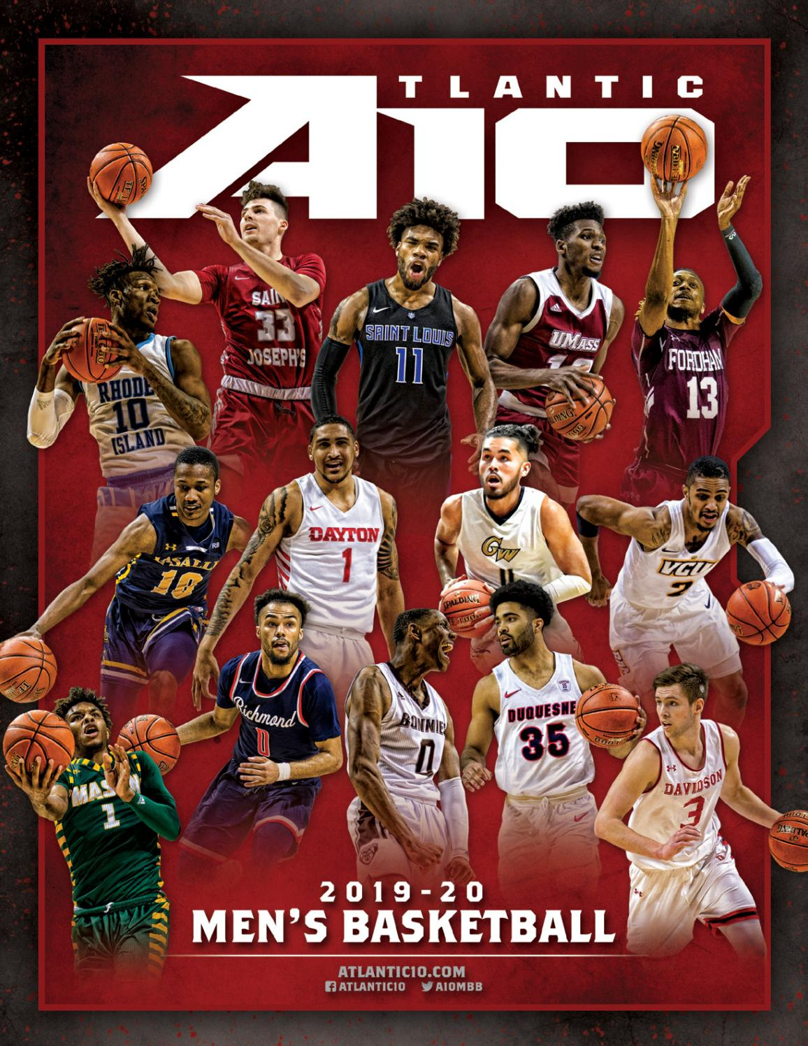 2019-20 Men's Basketball Media Guide by Atlantic 10 Conference - issuu