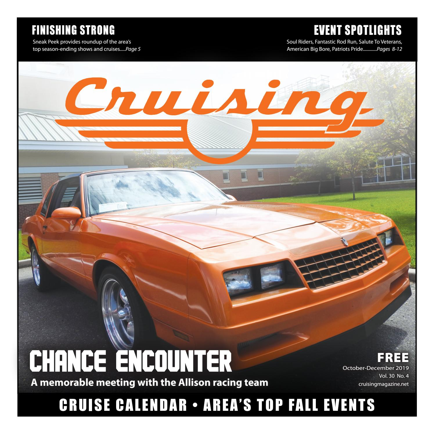 Dvrr Halloween Car Show 2020 Cruising Magazine   Oct. Dec. 2019 by outandabout   issuu