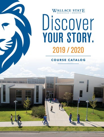 Oneonta Graduation 2020.2019 2020 Catalog By Wallace State Community College Issuu
