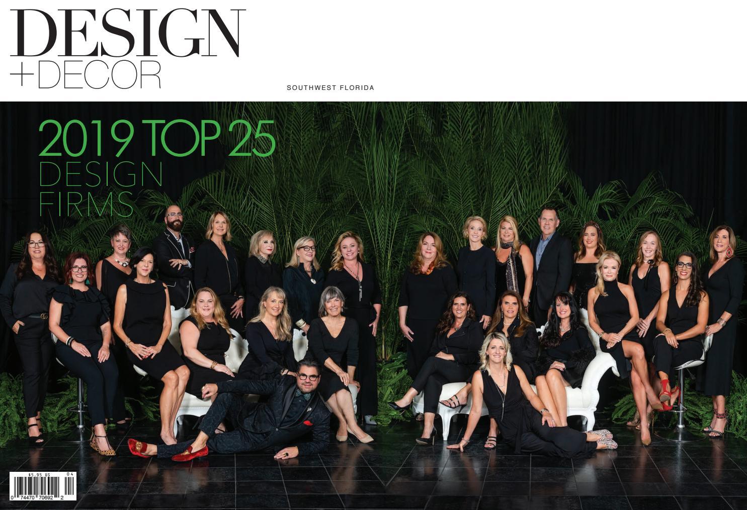 Design Decor Southwest Florida Fall 2019 By East Coast Home Publishing Issuu