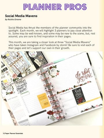 Page 12 of Planner Pros