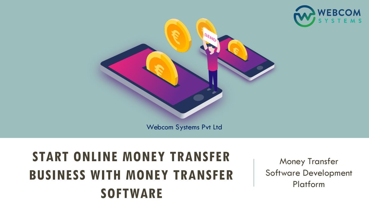 Start Online Money Transfer Business