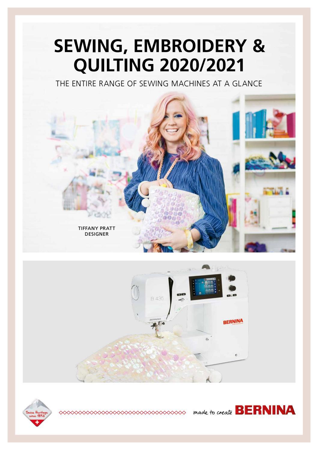 Bernina Product Catalogue English By Bernina International Ag Issuu