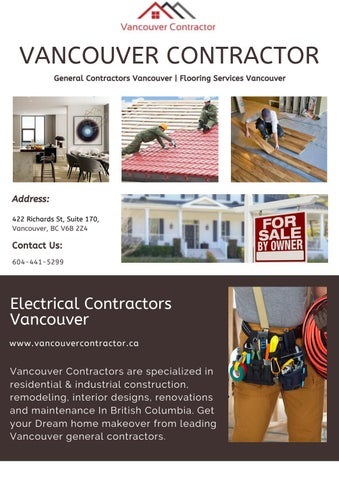 Electrical Contractors Vancouver By