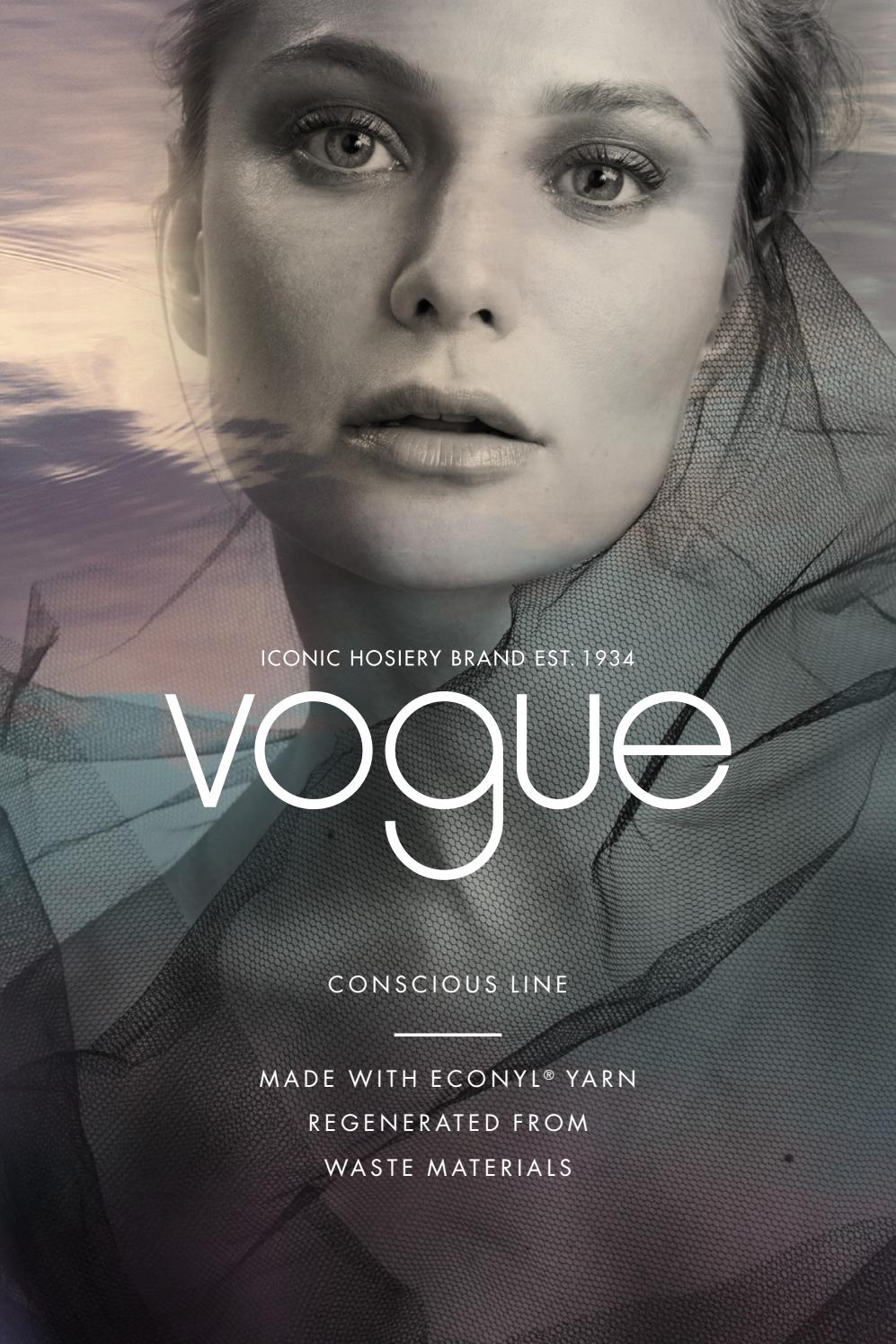 Vogue Hosiery Conscious Line Collection By Nanso Issuu