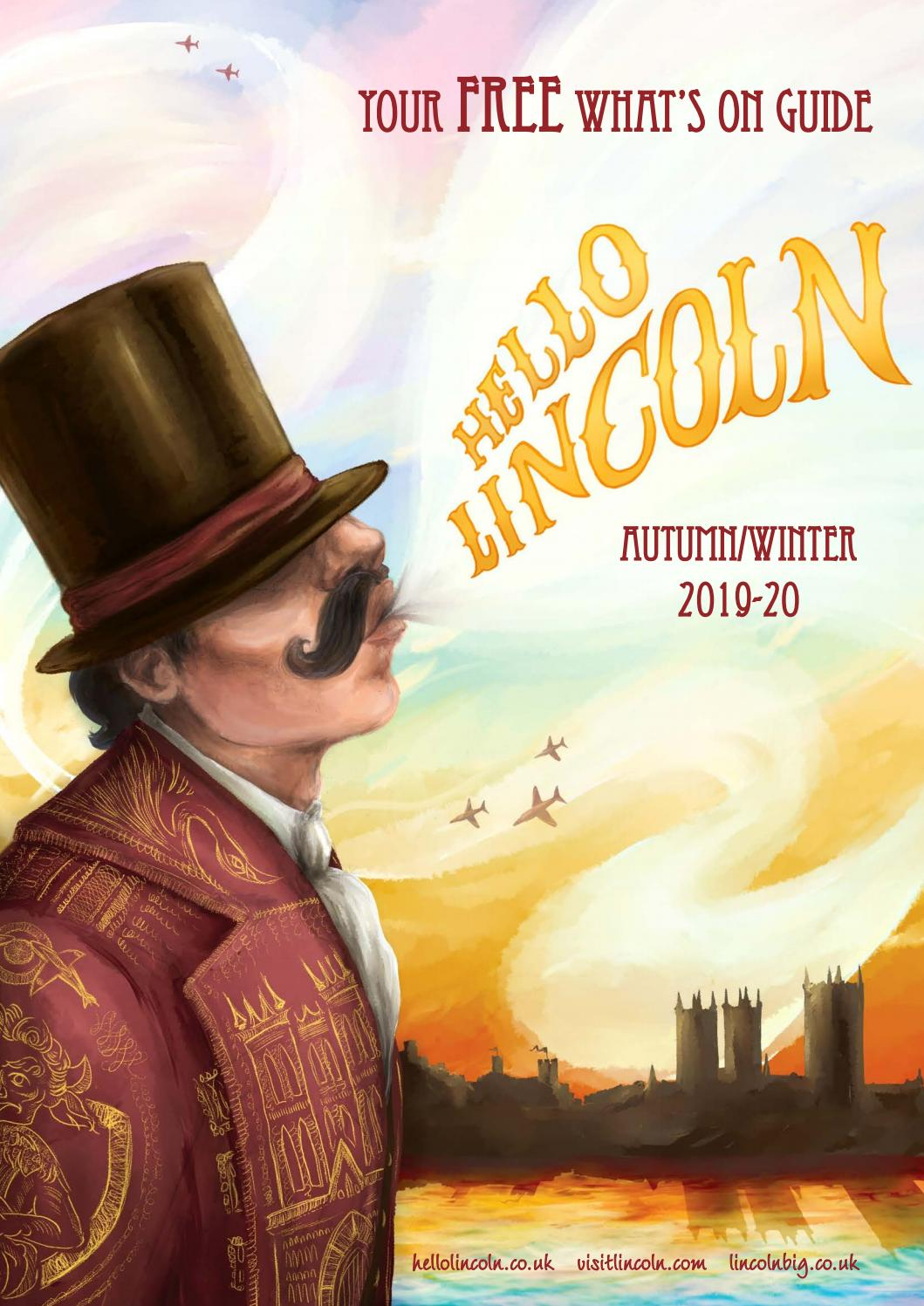 Hello Lincoln Whats On Guide Winter 201920 By Visit