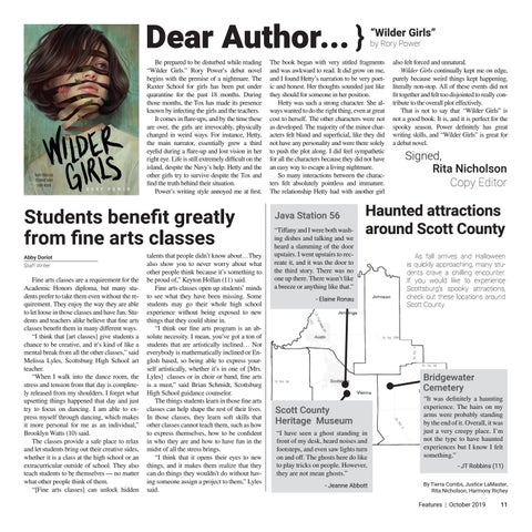 Page 11 of Students benefit greatly from fine arts classes