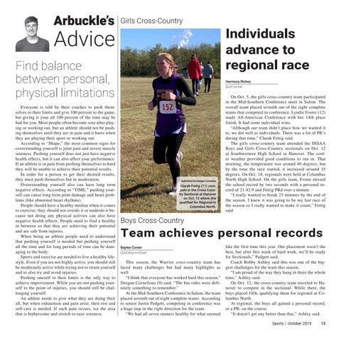 Page 13 of Team achieves personal records