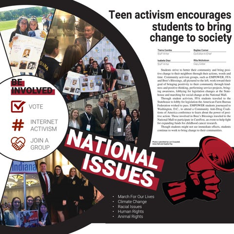 Page 8 of Teen activism encourages students to bring change to society