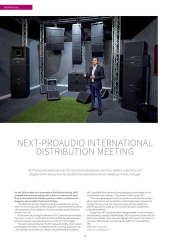 Page 10 of Next-ProAudio International Distribution Meeting