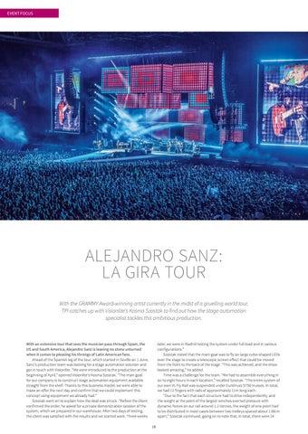 Page 18 of Alejandro Sanz: La Gira Tour