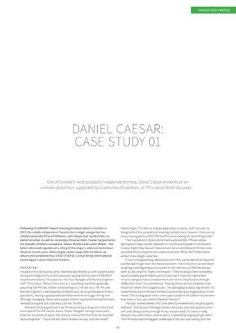 Page 63 of Daniel Caesar: Case Study 01