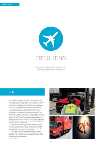 Page 74 of Market Focus: Freighting