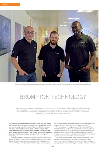 Page 82 of Brompton Technology