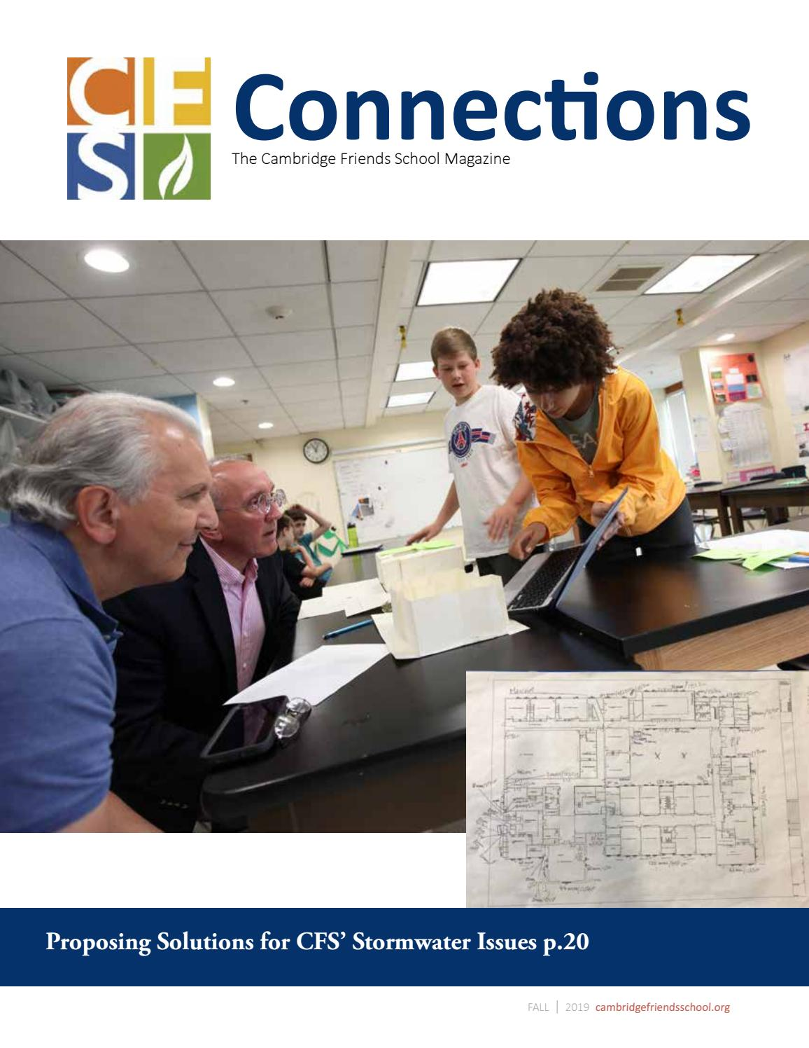 Connections Fall 2019 by cambridgefriendsschool issuu
