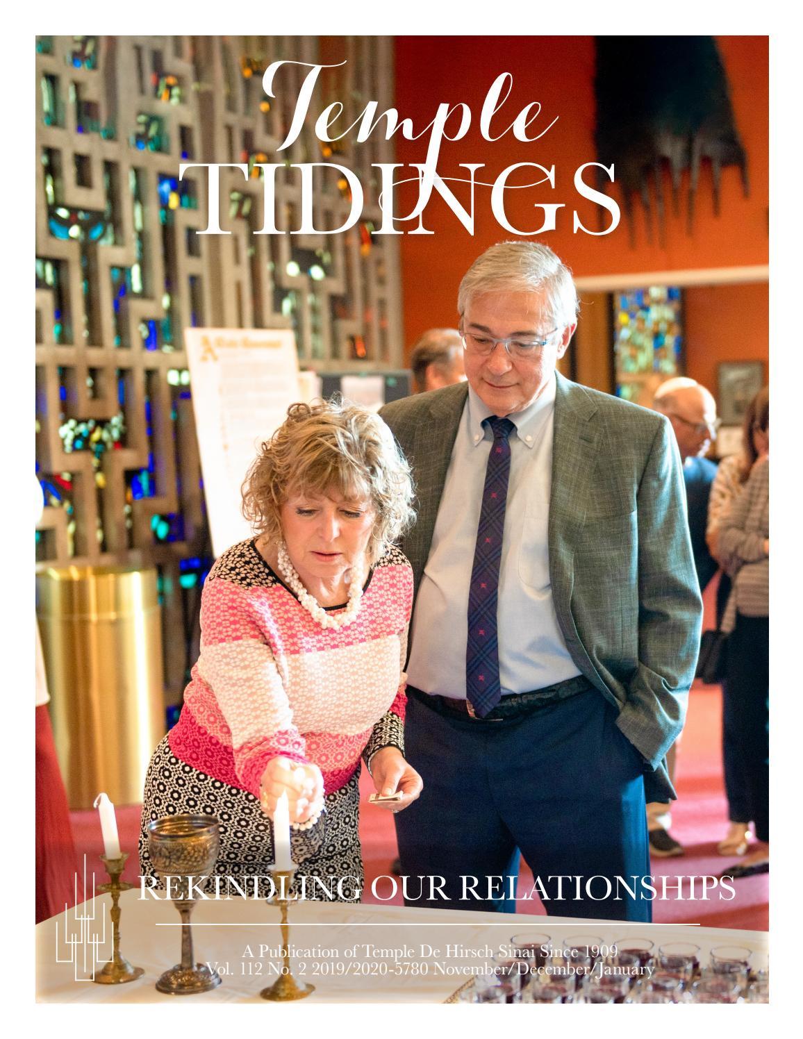 Barbara Bush Craft Fair 2020.Temple Tidings Vol 112 No 2 2019 2020 5780 November