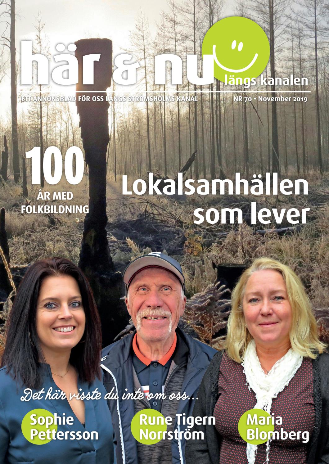 hr & nu nr 76 juni by Hr&Nu, lngs Strmsholms kanal - issuu