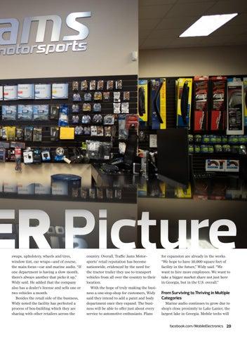 Page 29 of Real World Retail: Traffic Jams Motorsports