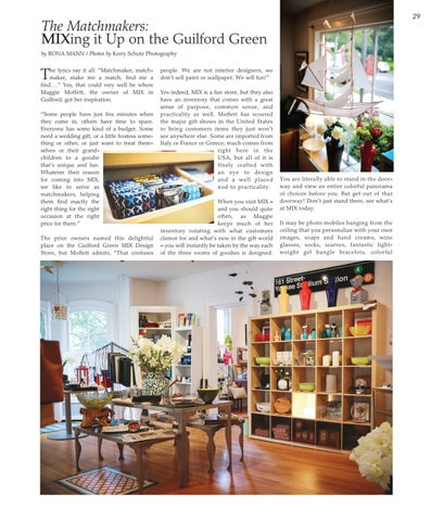Page 29 of Mix Design Store: MIXing it Up on the Guilford Green