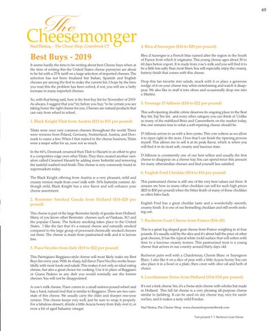 Page 49 of The Cheesemonger Best Buys of 2019