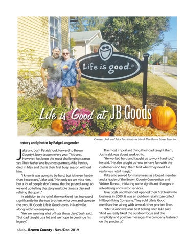 Page 48 of Life is Good at JB Goods