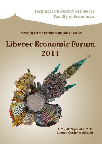 Lef 2011 By Ekonomickafakultatul Issuu