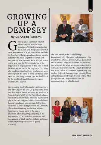 Page 11 of Growing Up Dempsey by Dr. Angela Williams