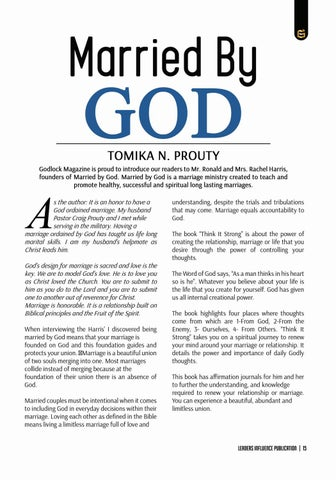 Page 15 of Married by God by Tomika N. Prouty