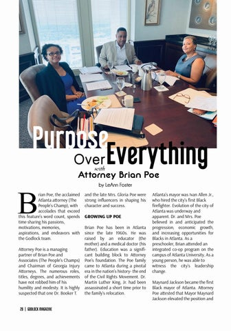 Page 26 of Purpose Over Everything with Attorney Brian Poe